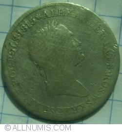 Imaginea #2 a 1 Zloty 1827