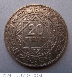 Imaginea #1 a 20 Franci 1928 (AH1347)
