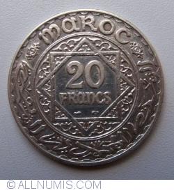Imaginea #1 a 20 Franci 1933  (AH1352)