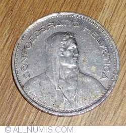 Image #2 of 5 Francs 1953