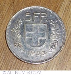 Image #1 of 5 Francs 1953