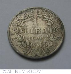 Image #1 of 1 Lira 1866 (XXI)