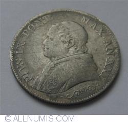 Image #2 of 1 Lira 1866 (XXI)