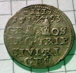 Image #1 of 3 Groschen 1593