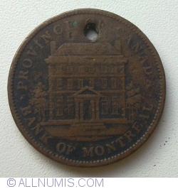 Image #2 of 1 Penny 1842 - Bank Token
