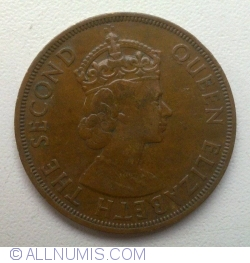 Image #2 of 2 Cents 1955