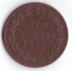Image #1 of 1 Kreuzer 1830