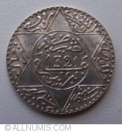 Imaginea #2 a 2-1/2 Dirhams 1903 (AH1321)
