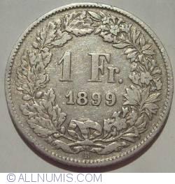 Image #1 of 1 Franc  1899