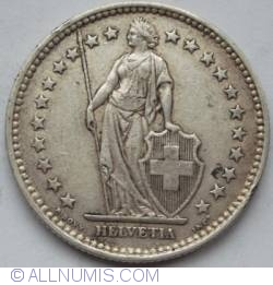 Image #2 of 2 Francs 1909