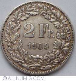 Image #1 of 2 Francs 1909