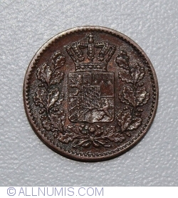 Image #2 of 1 Pfennig 1858