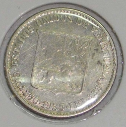 Imaginea #1 a 1/4 Bolivar 1935