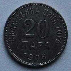 Imaginea #1 a 20 Para 1908