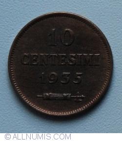 Imaginea #1 a 10 Centesimi 1935