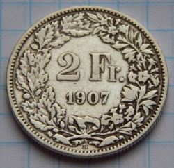 Image #1 of 2 Francs 1907