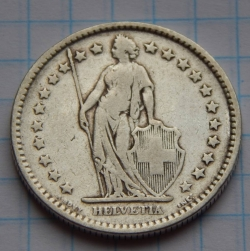 Image #2 of 2 Francs 1907