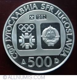 Image #1 of 500 Dinara 1982 - Winter Olympics 1984 - Downhill Skiing