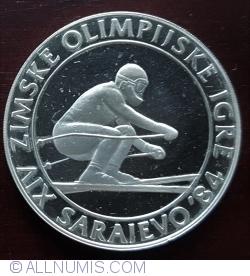 Image #2 of 500 Dinara 1982 - Winter Olympics 1984 - Downhill Skiing