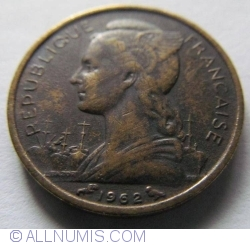 10 Franci 1962