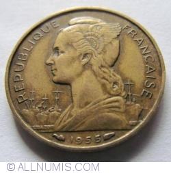 Imaginea #2 a 20 Franci 1955