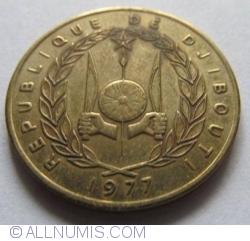 Image #2 of 20 Francs 1977