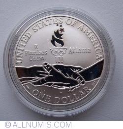 Image #1 of 1996 Atlanta Olympics - Gymnastics Dollar 1995 P