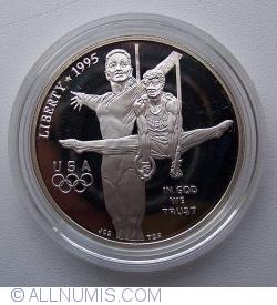 Image #2 of 1996 Atlanta Olympics - Gymnastics Dollar 1995 P