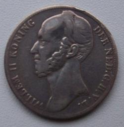 Image #2 of 1 Gulden 1848