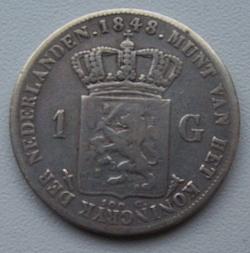 Image #1 of 1 Gulden 1848