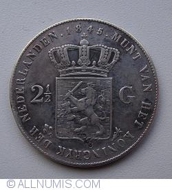Image #1 of 2-1/2 Gulden 1845