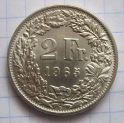 Imaginea #1 a 2 Franci 1965