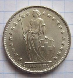 Image #2 of 2 Francs 1965