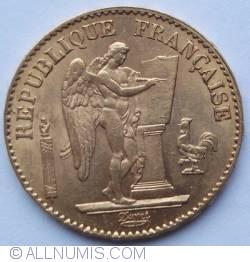 Image #2 of 20 Francs 1877