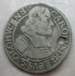 3 Kreuzer 1670