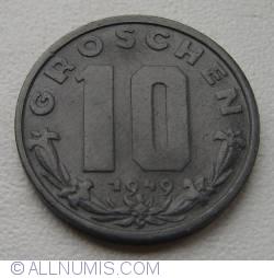 Image #1 of 10 Groschen 1949