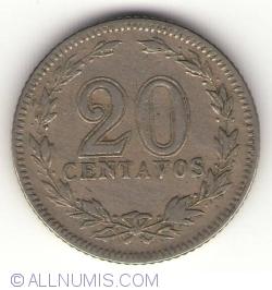 Image #1 of 20 Centavos 1920