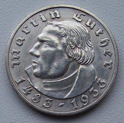 Image #2 of 2 Reichsmark 1933 F