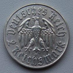 Image #1 of 2 Reichsmark 1933 F