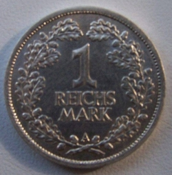 Image #1 of 1 Reichsmark 1926 A