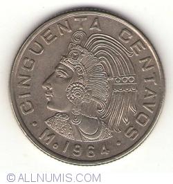 Imaginea #2 a 50 Centavos 1964