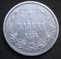 Image #1 of 1 Markka 1874