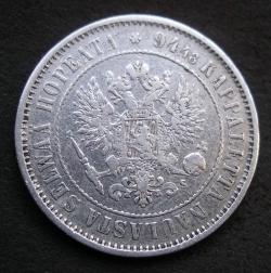 Image #2 of 1 Markka 1874