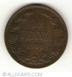 Image #1 of 10 Pennia 1900