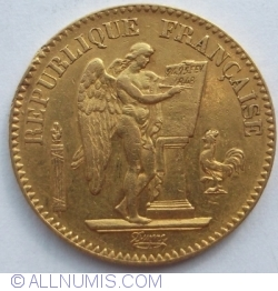 Imaginea #2 a 20 Francs 1848 A