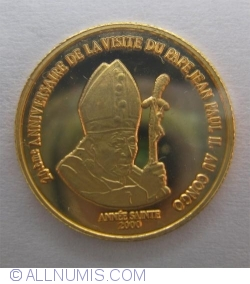 Image #2 of 20 Francs 2000 - Papal Visit