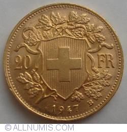 Image #1 of 20 Francs 1947