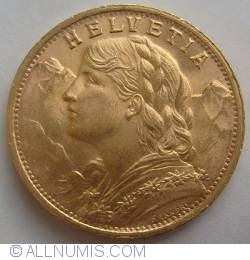 Imaginea #2 a 20 Franci 1947