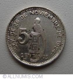 Image #1 of 5 Centavos 1947