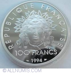 Image #1 of 100 Franci 1994 - Olympic Games (1896-1996)